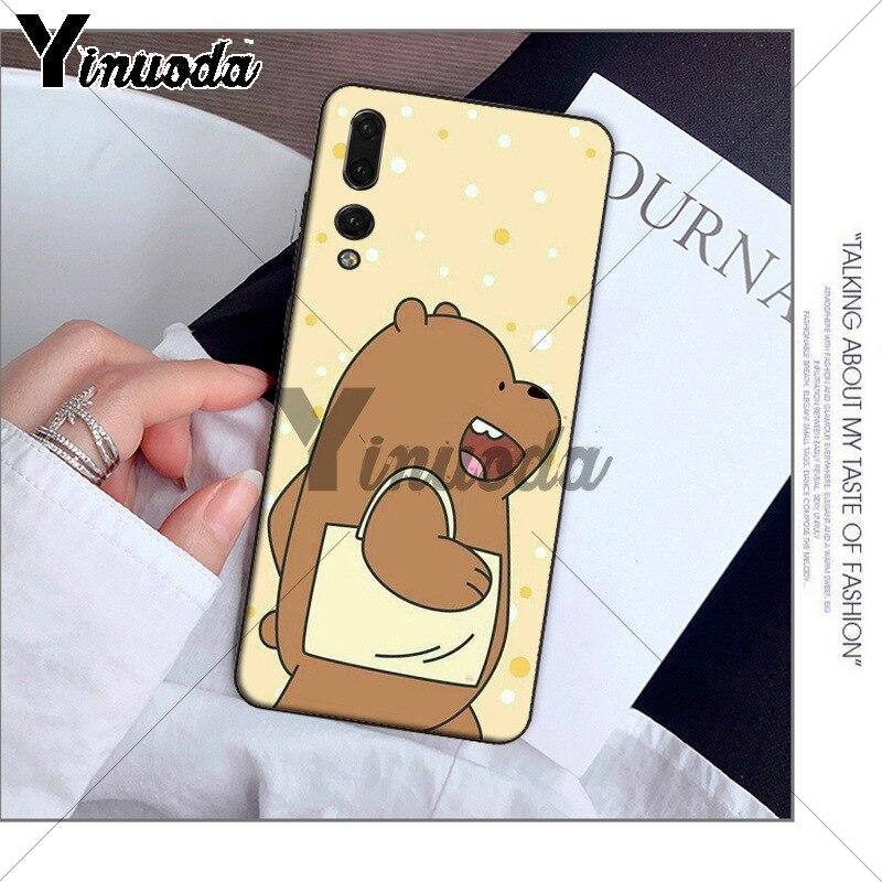 Yinuoda we bare bears lovely cartoon DIY Printing Phone Case for Huawei P10 plus 20 pro P20 lite mate9 10 lite honor 10 view10