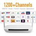 Android IPTV Set Top Box 1G/8G Wifi Tv Box 1200 Europa Árabe francés España Sky Sport Canal IPTV Canales de Fuerte CPU HD Tv Box