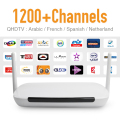 Android IPTV Set Top Box 1G/8G Wifi Tv Box 1200 Europe Arabic French Spain Sky Sport Canal IPTV Channels Strong CPU HD Tv Box