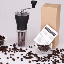 Apano Mini Portable Washable Manual Coffee Grinder ABS+PC Material Stainless Steel Ceramic Core Kitchen Handhold Coffee Grinder