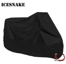 ICESNAKE Motorcycle Cover Bike All Season Waterproof Dustproof UV Protective Outdoor Indoor Moto Scooter Motorbike Rain