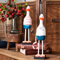 Nordic style decorative ornaments sailor duck set special desktop cute creative gifts home decoration accessories modern