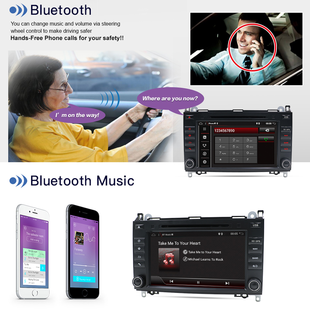 B170 multimedia 9,0 GPS