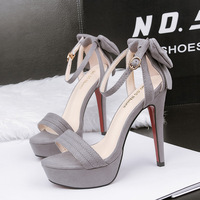 2018 butterfly high quality summer women pumps fashion elegant European shoes woman Buckle Strap beautiful ladies high heel