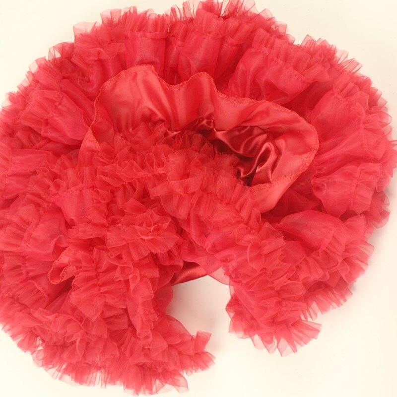 Красные вечерние Праздничная юбка-пачка для девочек детская юбка-пачка для девочек Рождественские юбки Одежда для мамы и дочки пышная пачка