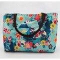 Mejor oferta - azul de las flores mujeres bolsos de totalizadores del bolso de gran capacidad top bolsos de la manija para todos ocasiones especiales