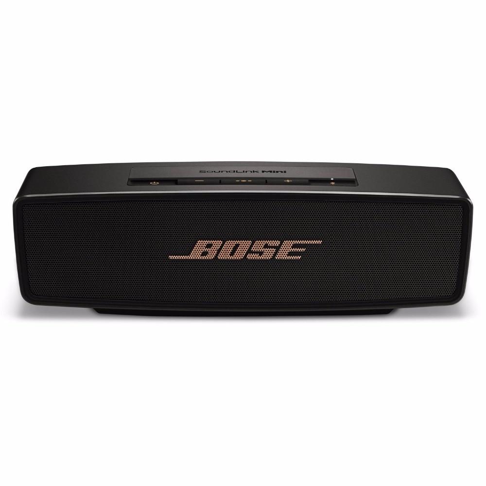 100% оригинал Новый BOSE SoundLink Mini II Bluetooth Динамик Беспроводной Портативный глубокий бас встроенный микрофон звуковой ящик домашнего театра