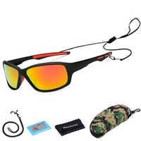 Nuovi Occhiali Polarizzati Antivento Trekking Occhiali Campeggio di Caccia Occhiali Arrampicata Occhiali Da Sole di Pesca UV400 Donne Degli Uomini di Occhiali di Protezione