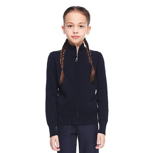 La Vogue Boys V-Neck Uniform Sweater Vest Solid Cotton Cable Knit Pullover Sweaters