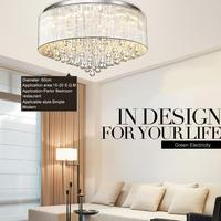 Crystal Lamp Modern Brief Led Ceiling Light Romantic Bedroom Lights Lighting Living Room Lights 10350 T