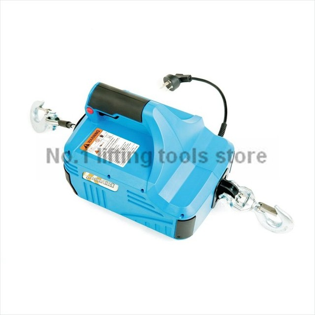 230 v electric wire puller max capacity 250 kg rope 8 M-in Lifting ...