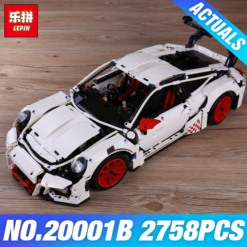 LEPIN 20001B 2758Pcs New Technic Series Classic DIY Race Car 42056 Educational Building Bricks Blocks Boys's toy Gifts DIY Model lepin 21003 series city car classical travel car model building blocks bricks compatible technic car educational toy 10252