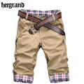 HEE GRAND Men 2016  Men Short  Pants Plaid Board Summer Shorts Men's Beach Splicing Short Trousers Bermuda Masculina MKX079