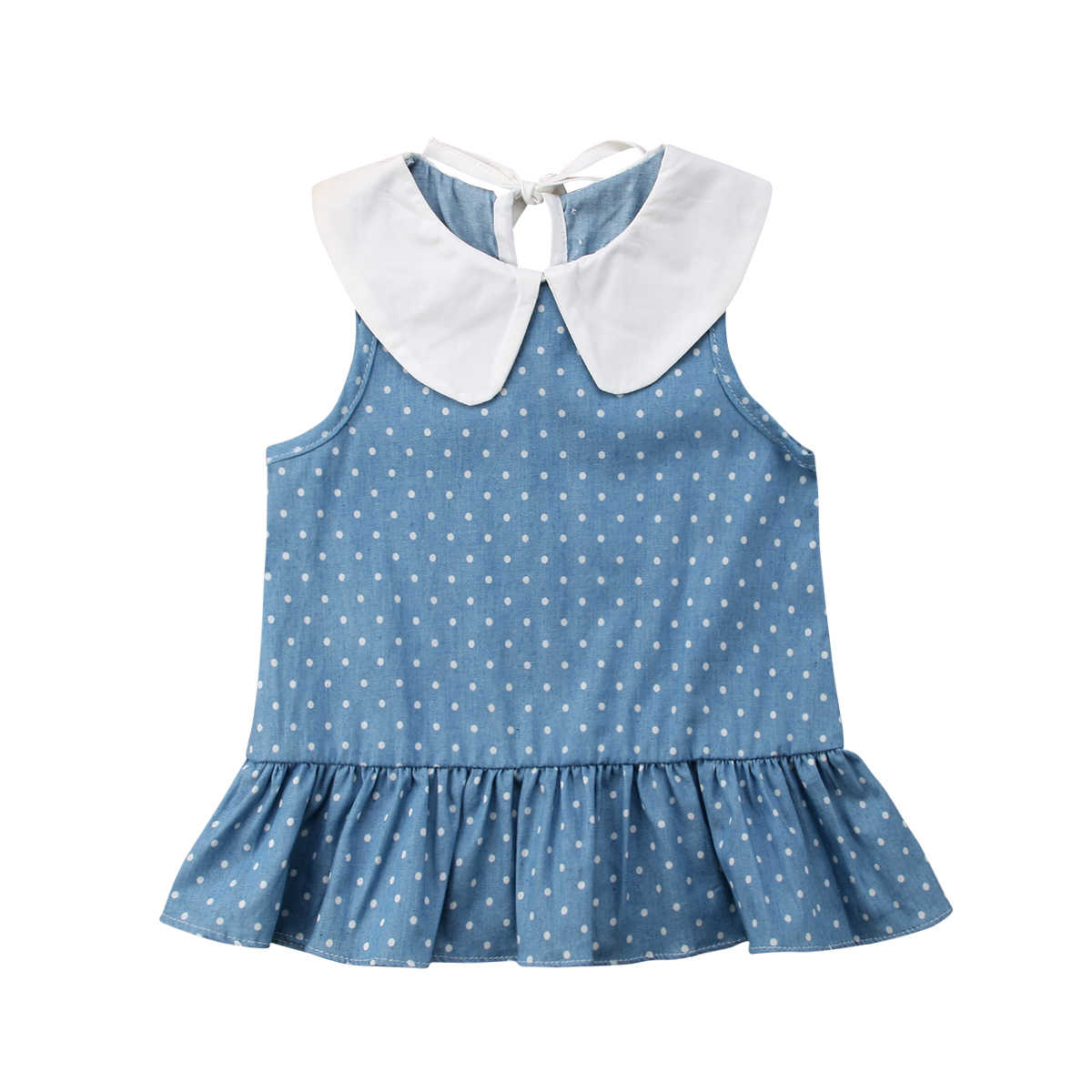 Summer Kid Girl Clothes School Style Outfits Dress Casual Party Princess  Dresses Cute Sailor Sollar Ball Gown Mini Dresses