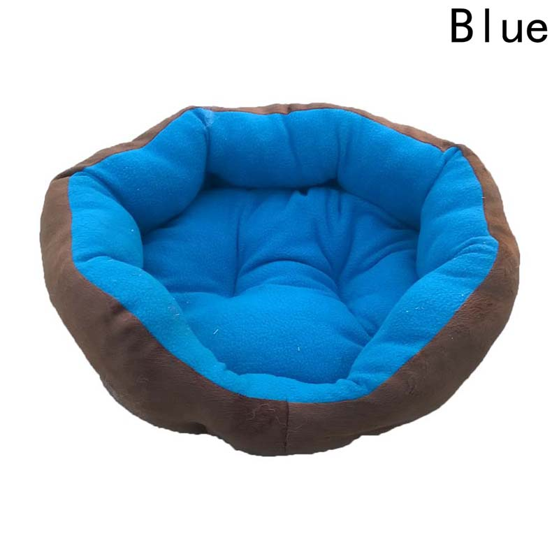 Winter Warm Pet Supplies Pet Dog Bed House For Small Large Dogs Soft Pet Nest Cat Sofa Mat Animals Pad 2 Sizes