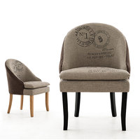 Free ShippingEMS High Quality Oak Chair Coffee Chair Wood Legs Sofa PU Leather Sofa Hotel Furniture