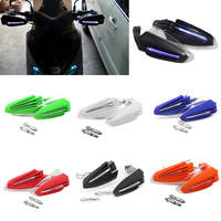 1 Pair 7 8 Universal Motorcycle Motocross Handguard Hand Guard Reinforced Protector Combination With LED Turn
