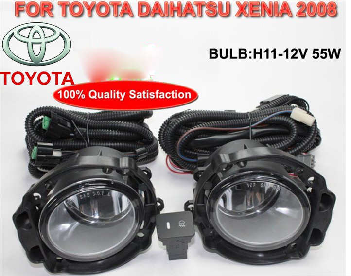 Allion Fog light,2011~2015,previa,2pcs/set+wire of harness,Avanza halogen light,Free ship! Daihatsu headlight;Fielder 2007, toyota allion premio модели 2wd