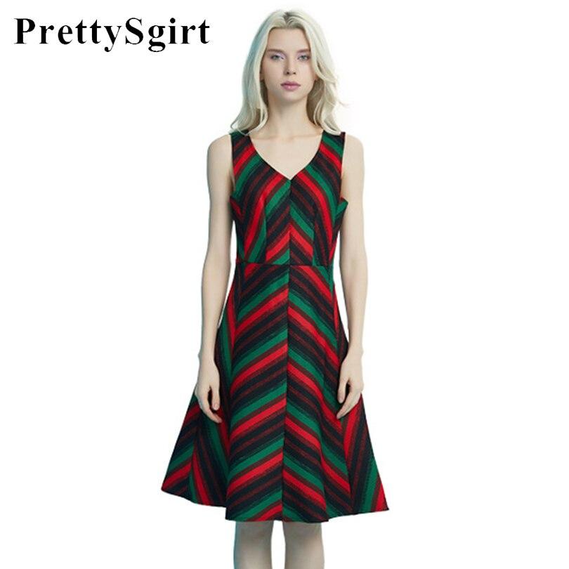 US $38.37 |PrettySgirt Summer Sundress Women Stripe Plus Size Casual Women  Pinafore dress Vestido robe femme-in Dresses from Women\'s Clothing on ...