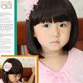 Младенческой малыш парики детей корейский младенца парик девушка короткие прямые синтетические волосы аватар фотографии показать парики ребенок прекрасный бобо волос