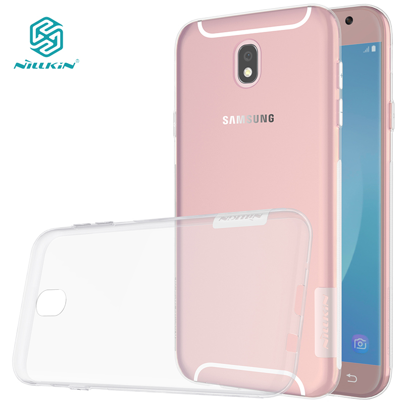 Nillkin Nature Transparent Clear Soft silicon TPU Protector case for samsung galaxy j5 2017 case cover for samsung j5 2017 j530f