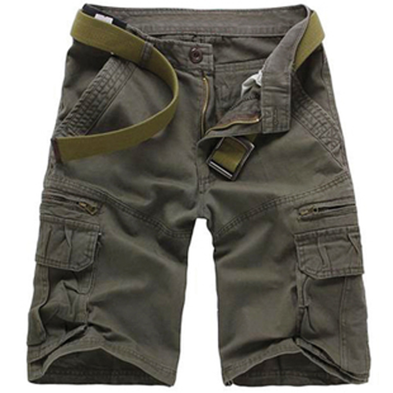 New coolMens Summer Military Army Combat Trousers Tactical Work Pocket Camo Cargo Men clothing Men Shorts