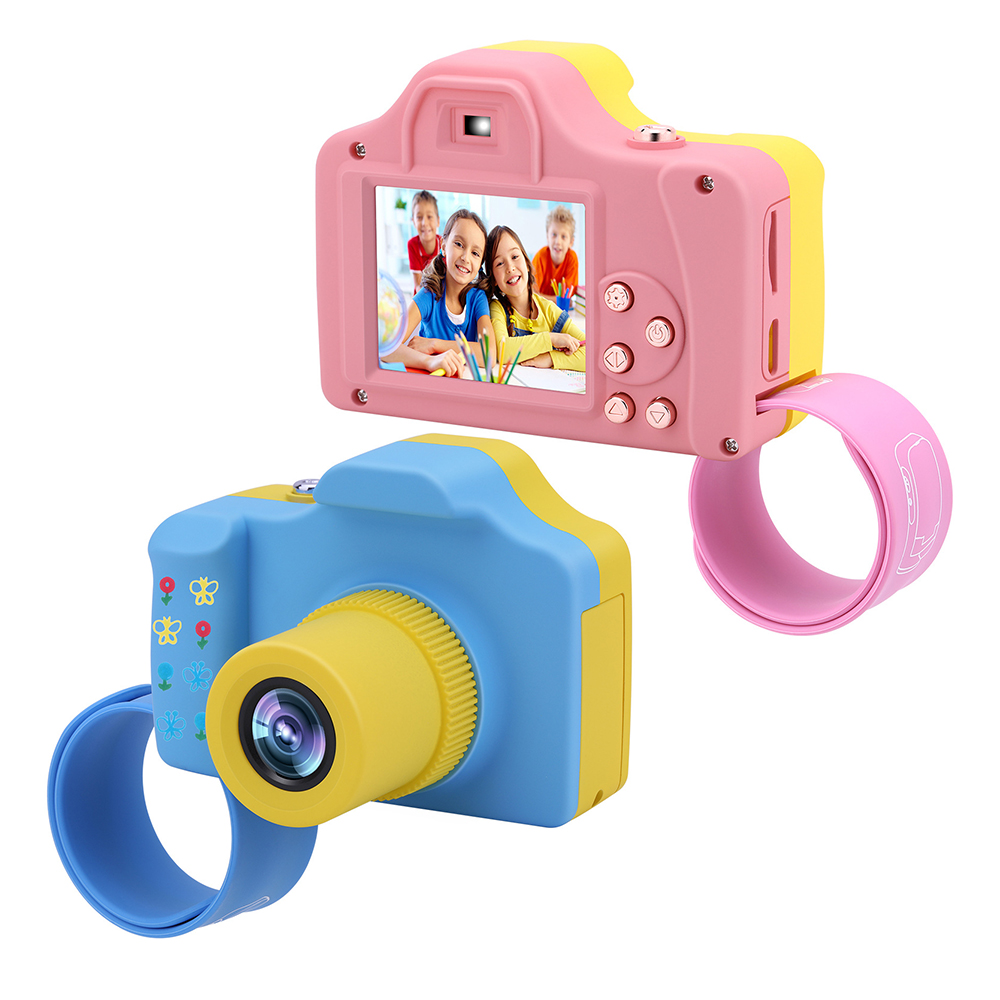 1000mAh Kids Camcorder DV Video Camera Recorder With Wrist Band 16 Mega Pixels USB 2.0 Children Digital Camera