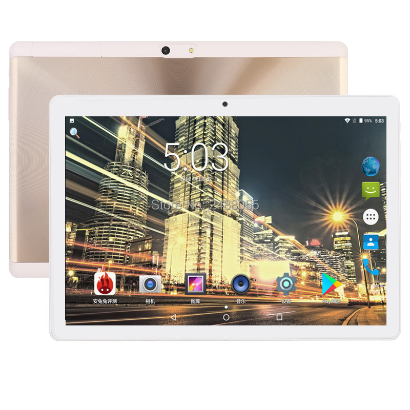2018 New 10 inch Tablet PC Octa Core 4GB RAM+64GB ROM Dual SIM Cards Android 7.0 GPS 3G 4G FDD LTE Tablet PC 10 10.1 +Gifts 2018 hot new 10 inch android 7 0 tablet pc octa core 3g 4g lte 4gb ram 64gb rom 1280 800 ips dual sim cards gps 5 0mp tablets