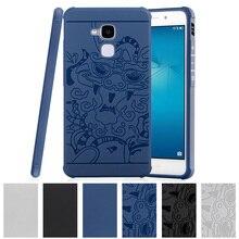 TPU Soft Case for Huawei GT3 GT 3 Honor 5C 5 C / 7 Lite Honor7 7Lite 3D Relief Case Phone Back Cover Nmo L23 L31 Nmo-L23 Nmo-L31