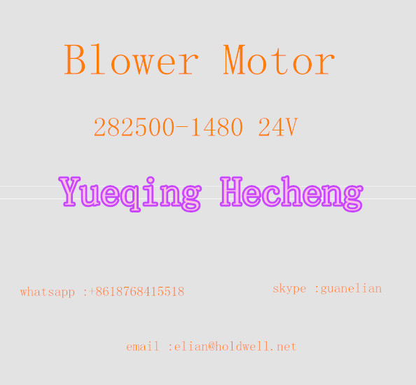 Free shipping Blower Motor 282500-1480 24V PC200-7 Air Blower