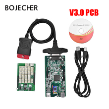 3pcs lot DHL 2016 R0 2015 R3 Keygen New VCI TCS CDP Without With Bluetooth Diagnostic
