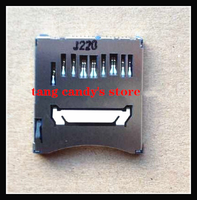 New SD Memory Card Slot For Canon EOS 70D Digital Camera Repair Part