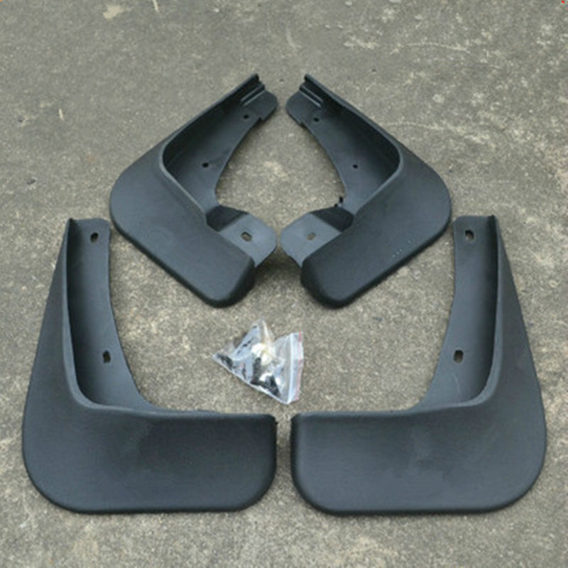 plast Mud Flaps Splash Guard 2010-2014 Mitsubishi Lancer / Lancer X / Lancer Evo Car styling