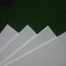 ABS0905 200 мм толщина 0,5 x ABS Стирол 250 листы Белый