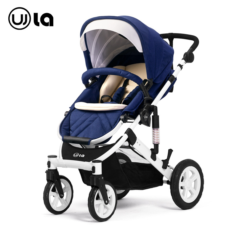 Convertible Baby Carriage Landscape Baby Stroller Light Folding Lying Down Newborn Four Wheels Joggy Stroller Baby Pram Buggy