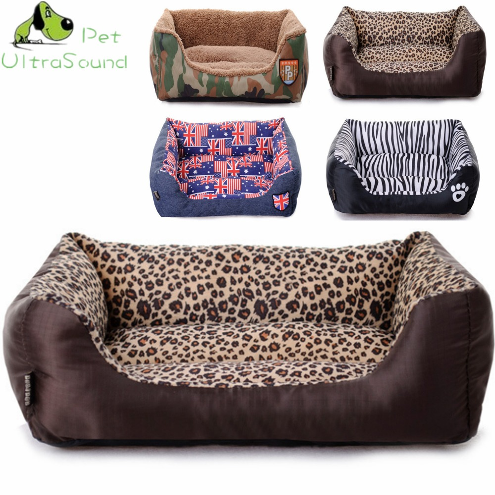 ULTRASOUND PET Dog Kennel Soft Dog Beds Puppy Cat Bed Pet House For Small Medium Dog Pad Winter Warm Pet Cushion Animals House thumbnail