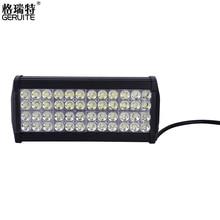 LED 144 W LED Barra de luz de trabajo Del Coche Automóvil coche todo terreno luces led luces de conducción de campo a través camión Faro 144 w