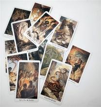лучшая цена New English Board Game tarot cards Wild Wood Tarot Family Entertainment kids toys 78 cards/set