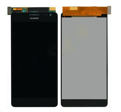 100% Black Original Complata For Huawei D2 Display + D2 Touch Screen Touch Screen Glass Free Shipping black 100
