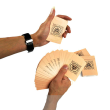 Manipulation Cards Magician Gimmick Stage Magic Tricks Email Video to You