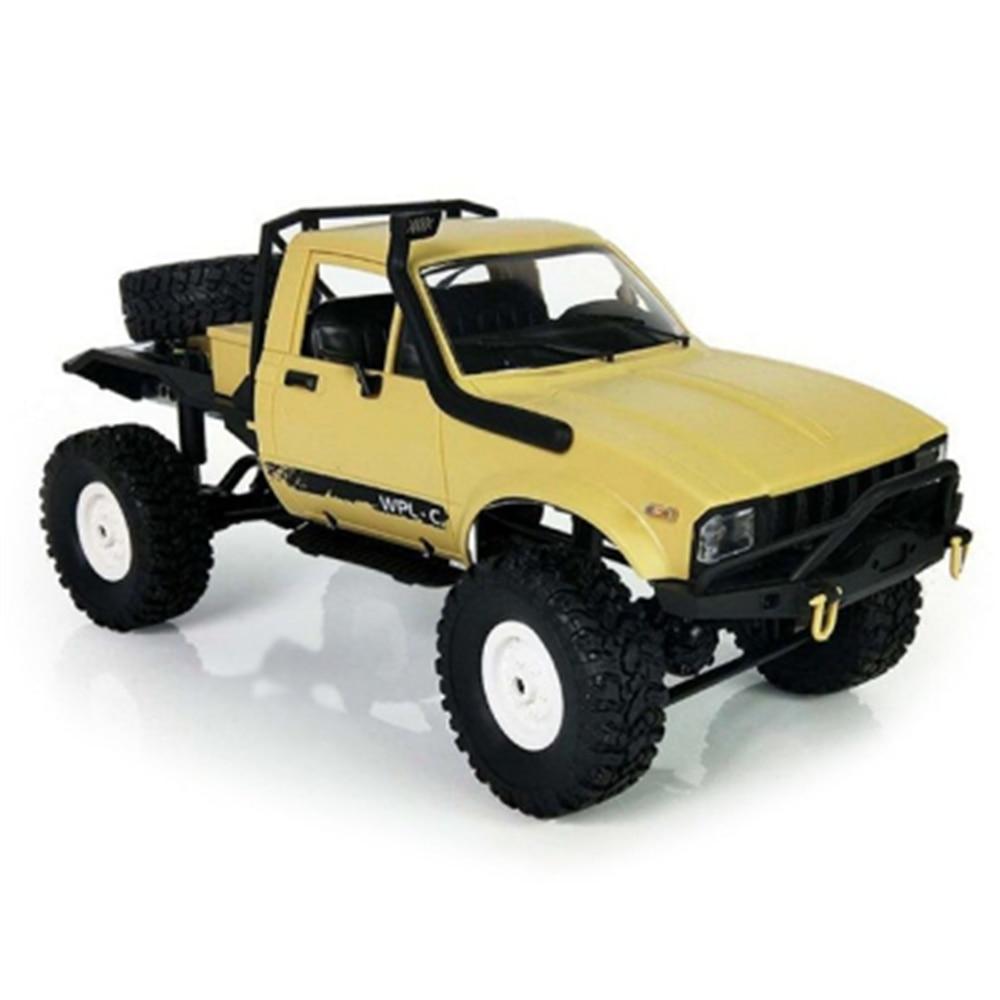 Originale WPL C14 1:16 RC Camion Hynix 2.4g Mini Off-Road di Controllo Remoto Camion Toys15km/H Top velocità Mini RC Monster RTR/KIT Camion