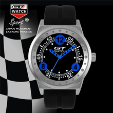 GT RELOJ Superior de la Marca de Moda Hombres de la Serie de Carreras de Deportes de Cuarzo de Silicona Reloj de Pulsera Relojes relogio masculino Nuevos Auténtico FD0790