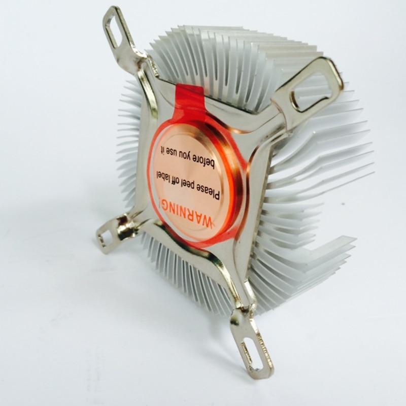 Image 3 - DIY радиатор процессора 87,2*85,2*24,5 мм чистый алюминиевый радиатор для Светодиодный кулер Охлаждение процессора медный сердечник радиатора-in Вентиляторы и охлаждение from Компьютер и офис