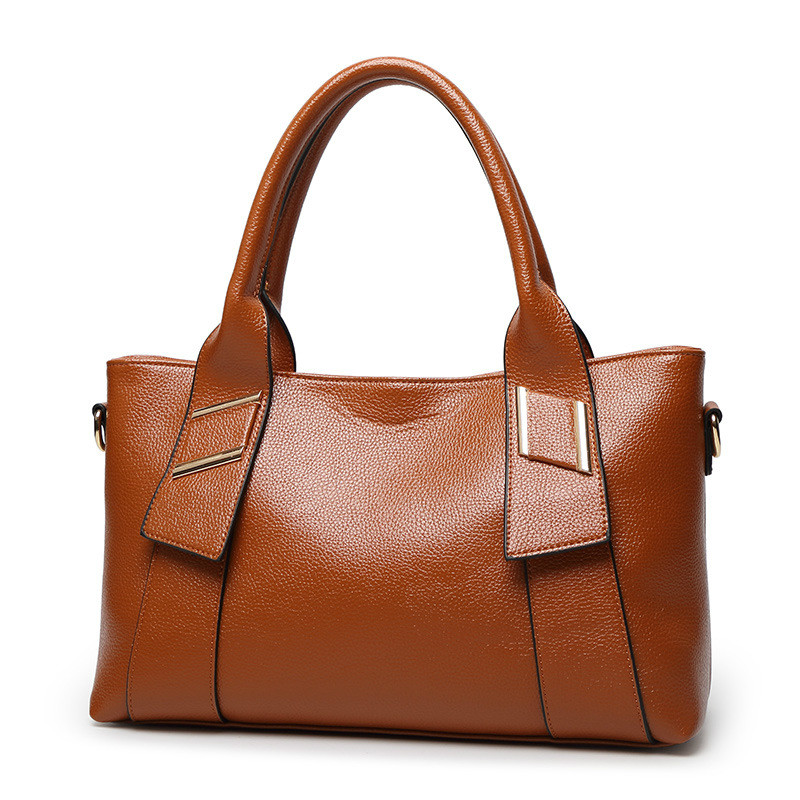 Bags Fashion Elegant Lady Classic Concise Handbags Solid Color Wine Red Blue Black Brown Yellow Baguette Crossbody monnet cauthy women s bags classic concise leisure new fashion backpack solid color black blue brown army green and wine red bag