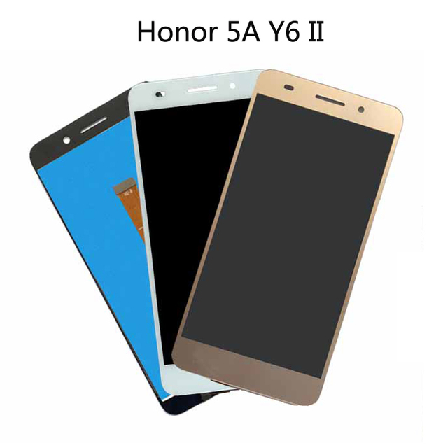 original For huawei honor 5A Y6 II 2 CAM-L21 LCD Display Screen with touch screen digitizer Assembly without frame