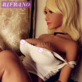 Rifrano 158cm Japanese life size sex dolls,Lifelike real silicone mini love doll with big breast oral/vagina sexy toys for man