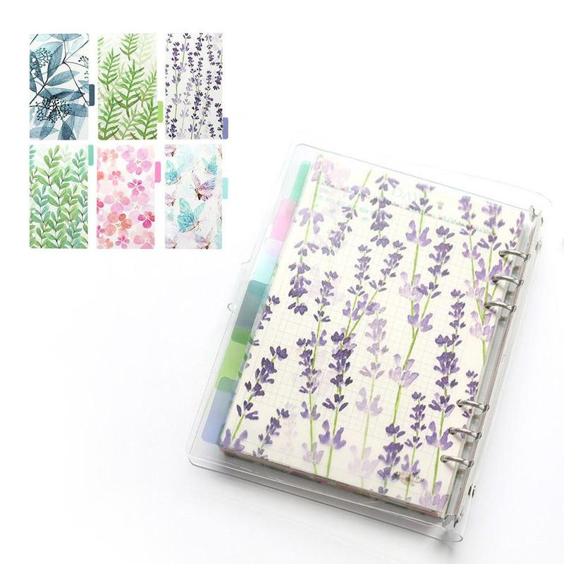 Hot Promo Ccd1 A5 A6 A7 Colored Notebook Index Page Matte Cover