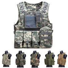 USMC Military Airsoft Paintball Vest Body Armor Molle Combat Plate Carrier Tactical Vest Outddor Hunting Clothes outdoor tactical molle vest military airsoft shooting vest paintball protective plate carrier airsoft vest waistcoat