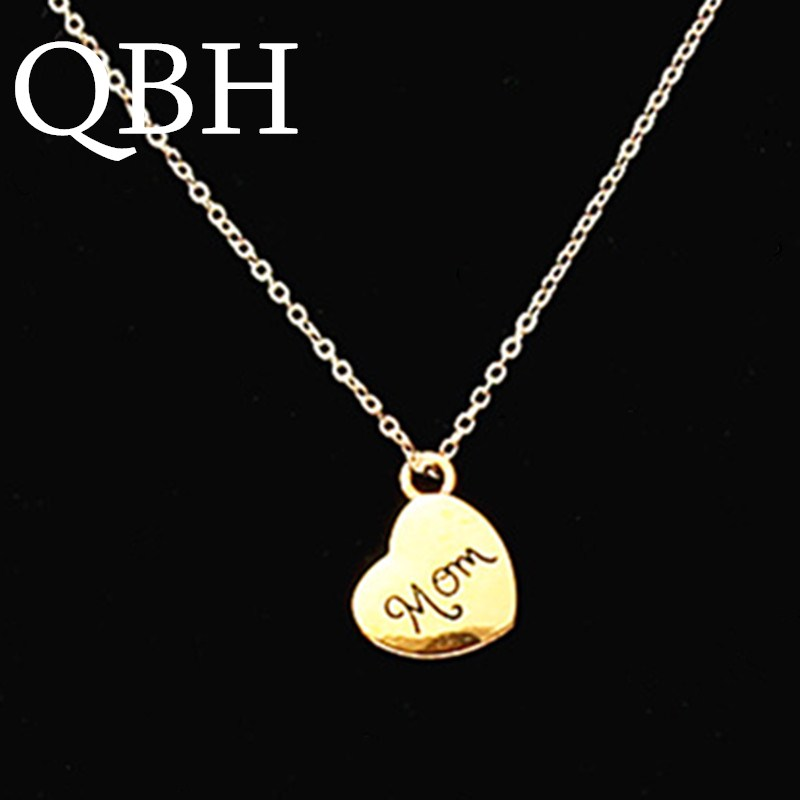 2019 New Style Women Colar Custom Collares Name Engraved Necklace Birth Stone Necklaces Family Heart Pendant Colar Gold Color Chain Gift To Mom Cheap Sales Jewellery & Watches