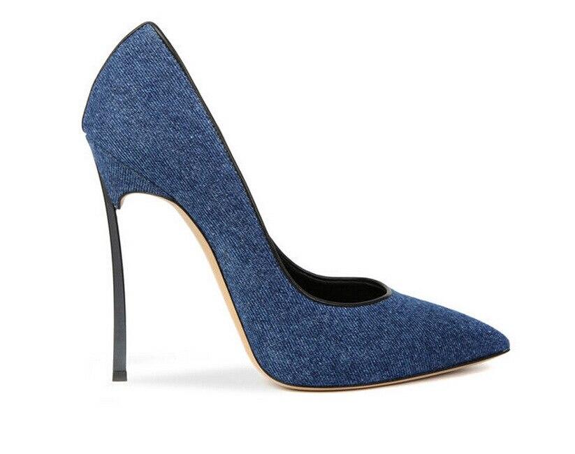 chaussures en jean femme,New Look Sandale En Jean a Franges